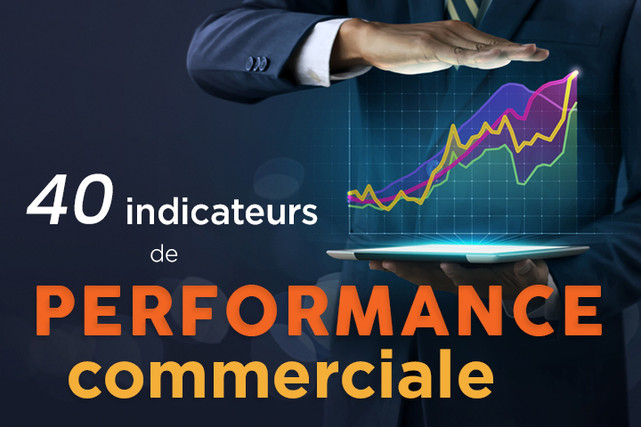 40 indicateurs de performance commerciale pour piloter son activité