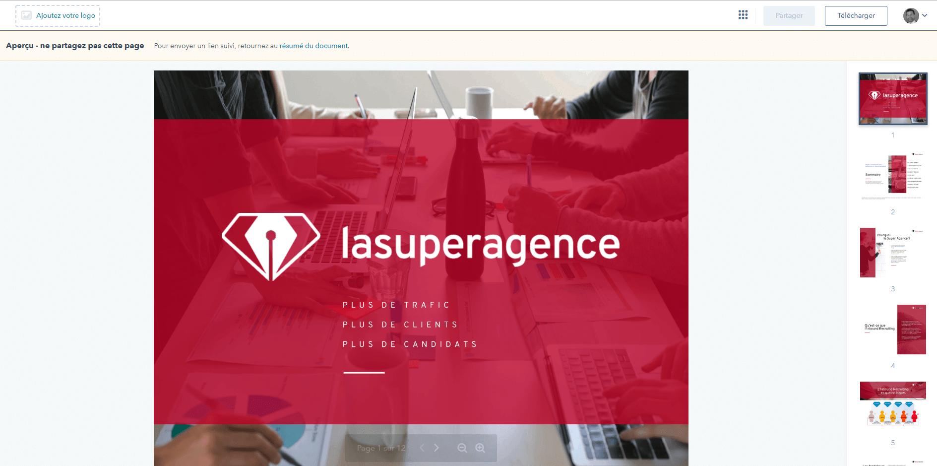 La gestion de documents avec HubSpot