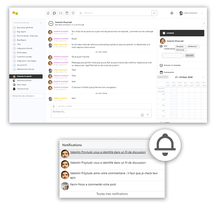 améliorer la communication interne - Netframe