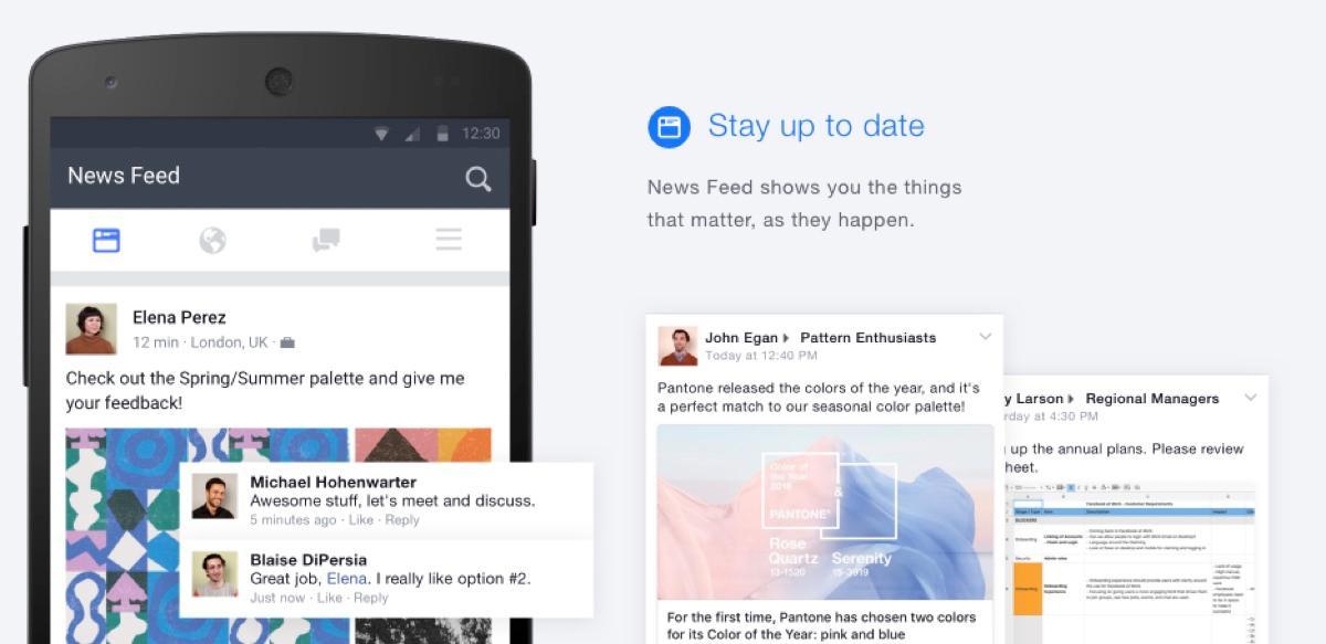 améliorer la communication interne - Workplace by Facebook