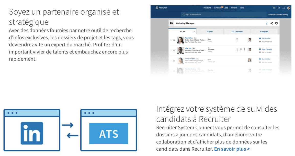 La technique de recrutement linkedin recruiter