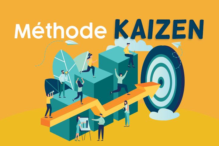 La méthode Kaizen ou l'amélioration continue, en 6 étapes