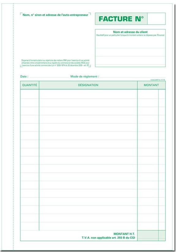 Faire Une Facture Modele Et Exemple Excel Avec Mentions Obligatoires Appvizer