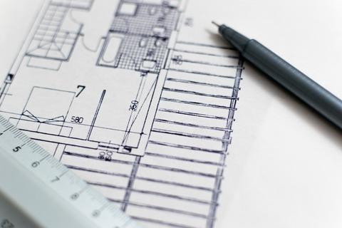outils architecte : dessin de plan d'architecture
