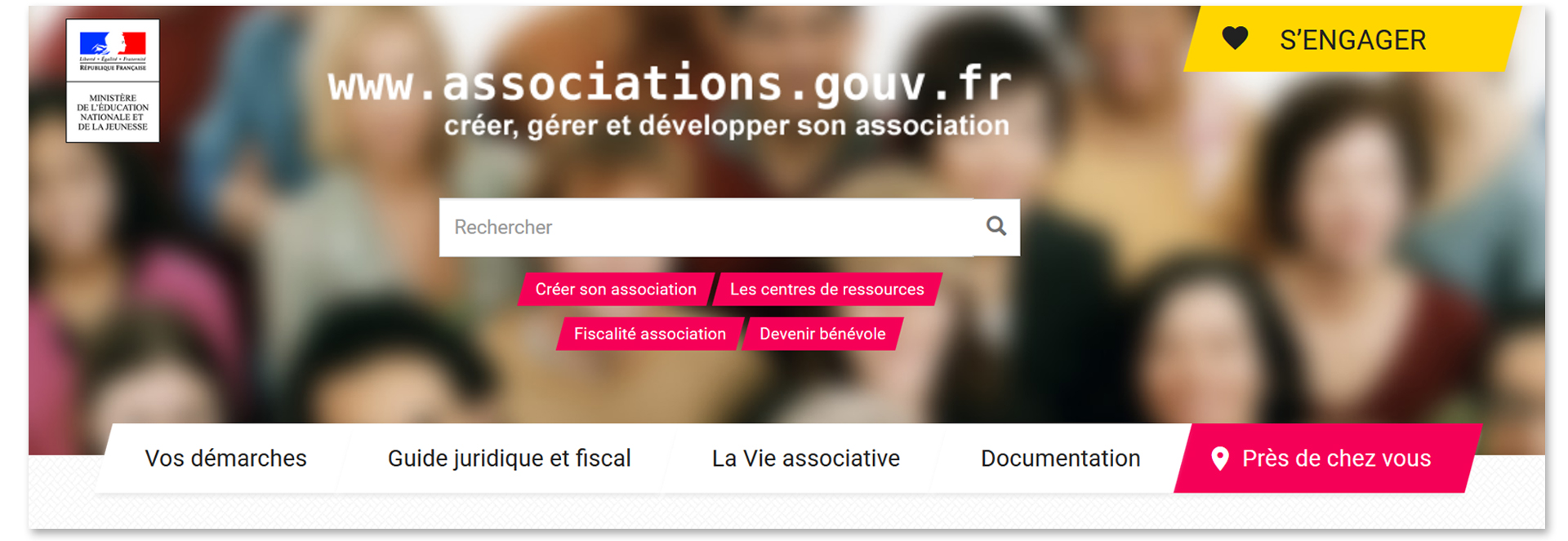 Gestion association : associations.gouv.fr