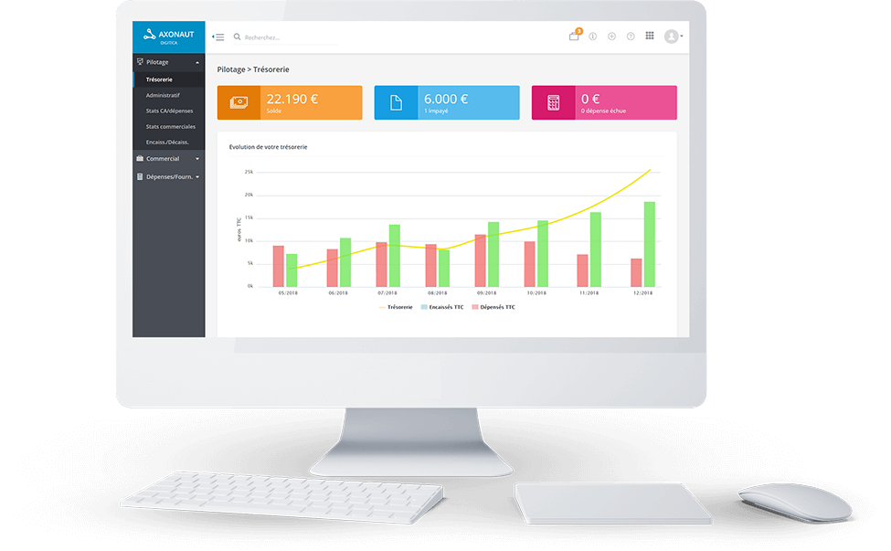 ERP PME : Axonaut