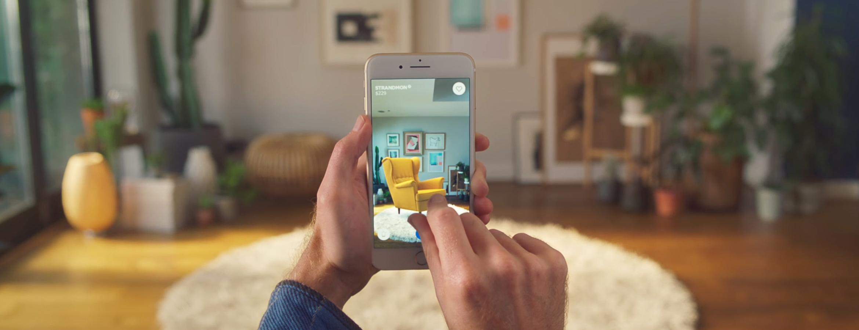 UI : exemple de réalité augmentée