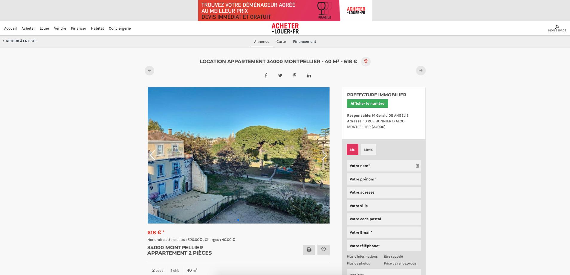 Marketplace location Acheter-louer.fr