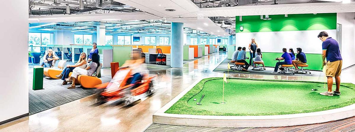 culture d'entreprise et espaces de travail