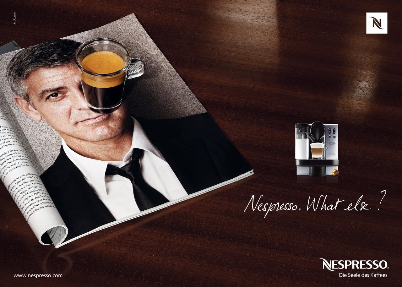image de marque : exemple slogan Nespresso