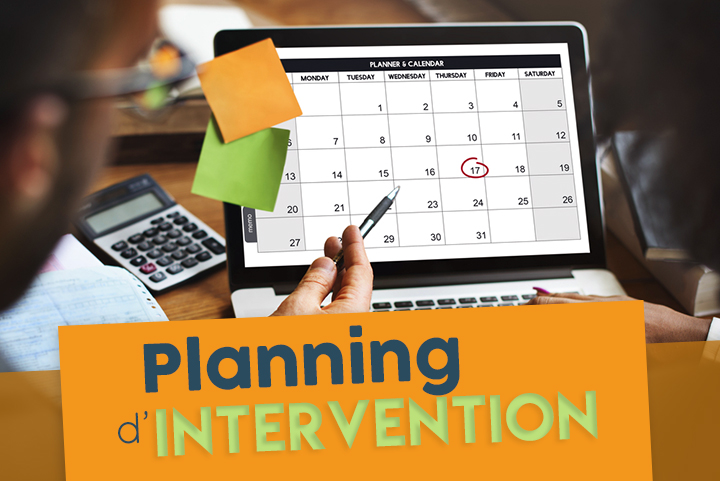 Comment faire un planning d'intervention efficace pour vos techniciens ?