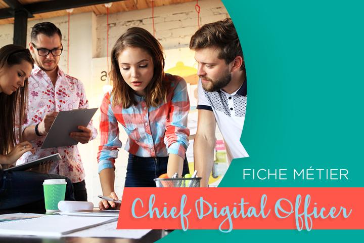 [Fiche métier] Le Chief Digital Officer, pour une transition numérique réussie