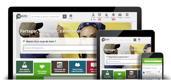 plateforme communautaire : visuel Neolink