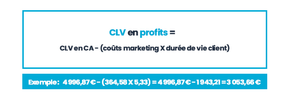 customer lifetime value en profits