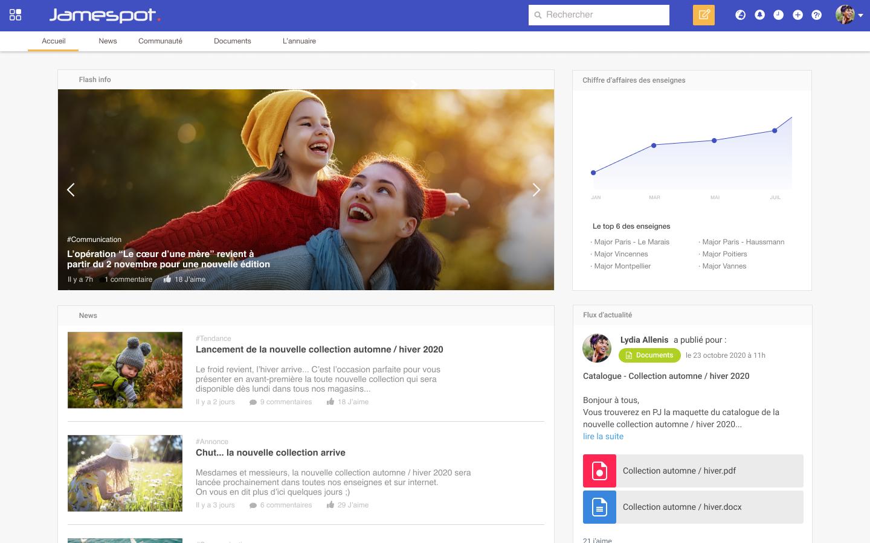 Etape 1: Créer et personnaliser son réseau social d'entreprise