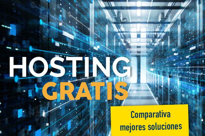 Comparativa del mejor hosting gratis en España