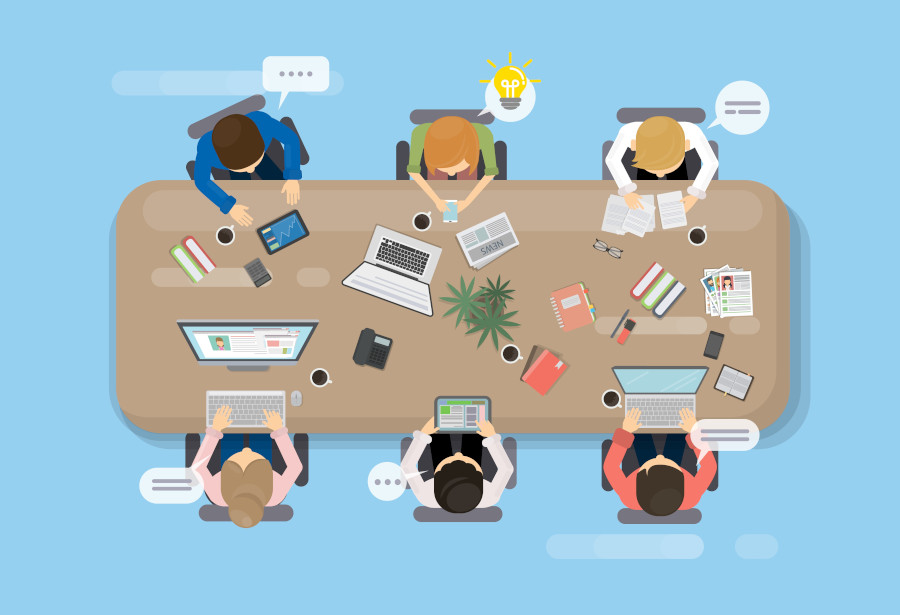 reunion-de-trabajo-infografía