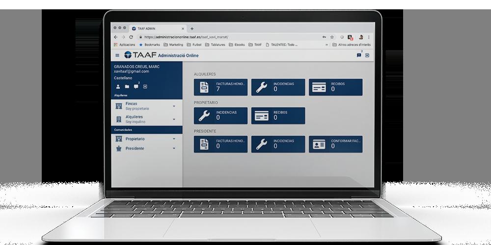 gestion-de-comunidades-taaf-captura-de-pantalla