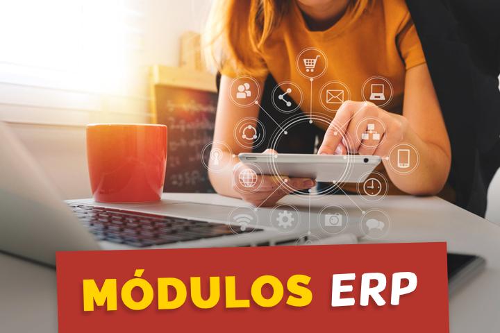 ¿Cuáles son los módulos ERP más utilizados en el mercado?