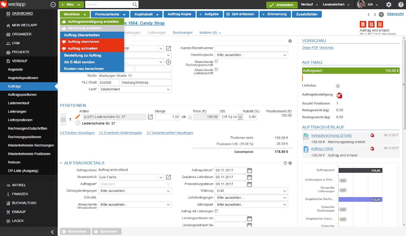 Vergleich der besten ERP Software Systeme für Ihr Unternehmen