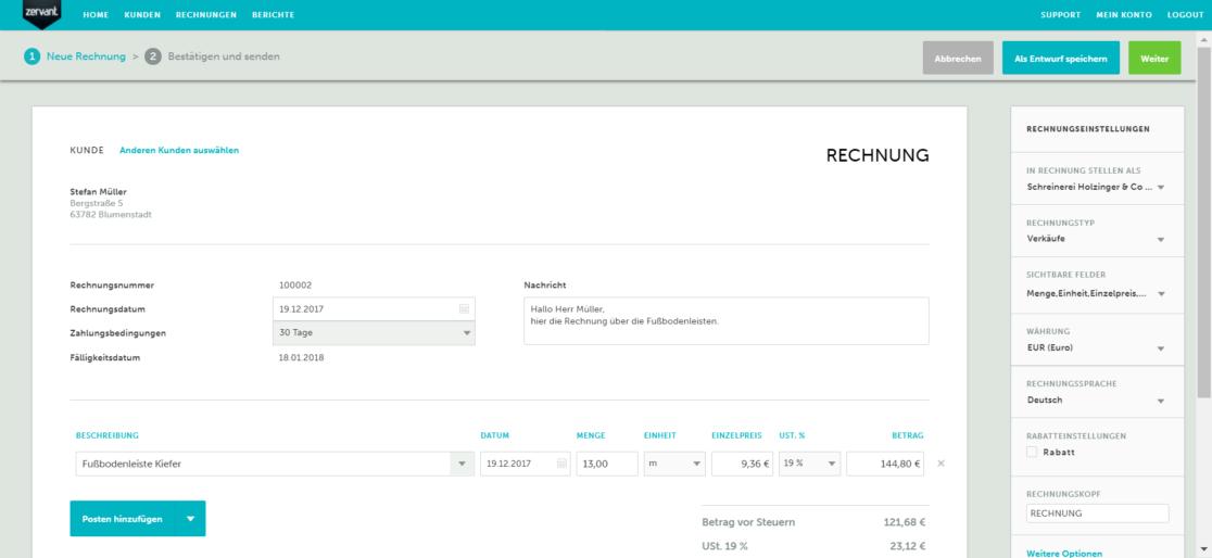 Effizient Rechnung stellen: Automatisieren Sie Ihre Rechnungsstellung