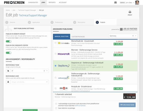 Recruiting mit der Software von Prescreen: Personalsuche effizient und einfach