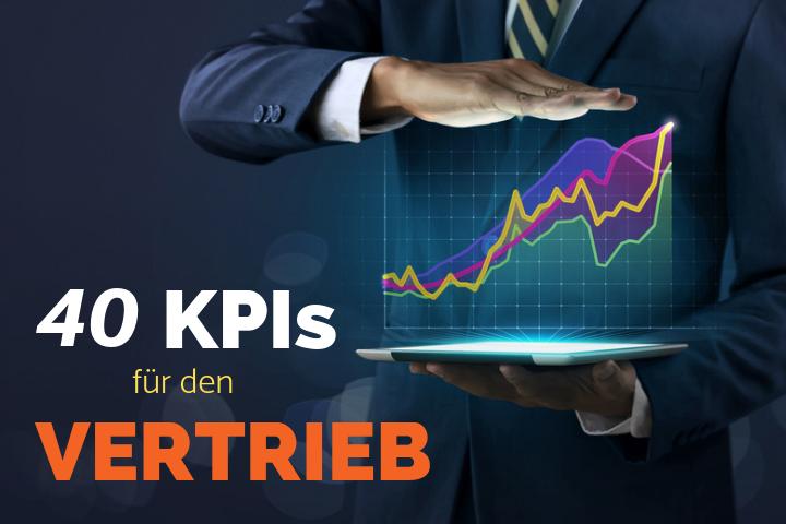 40 KPIs für den Vertrieb und ein effizientes Aktivitätsmanagement