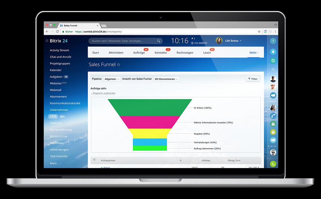 Bitrix24 CRM-Software
