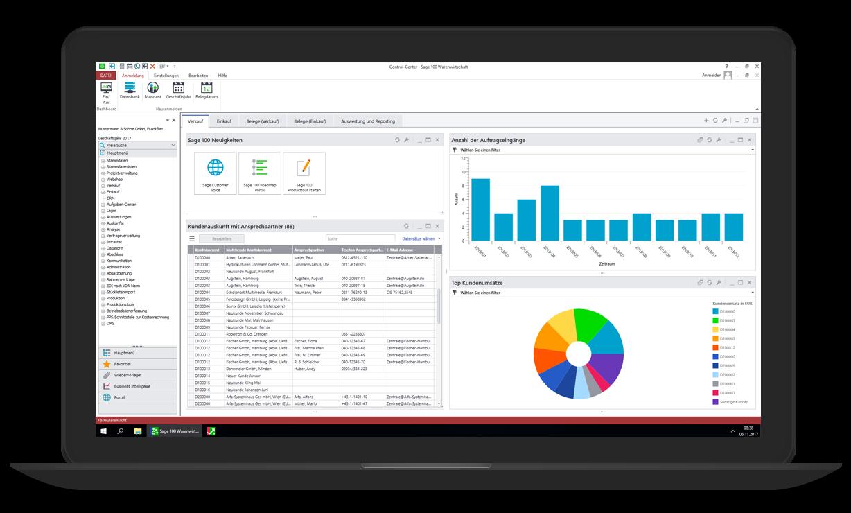 Sage 100cloud ERP und Sales Management