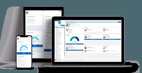 Personalmanagement HRworks - Personalbeschaffung Desktop und mobil