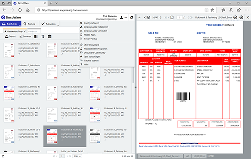 DocuWare Dokumentenverwaltung