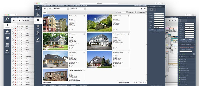 onOffice Kundenmanagement für Immobilienmakler