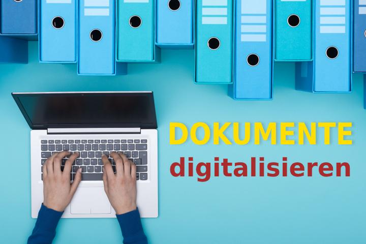 Dokumente digitalisieren: Alles, was man beachten muss