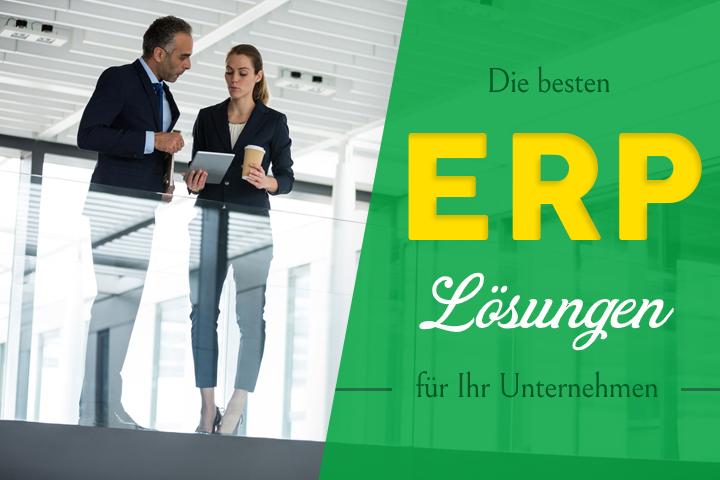 Finden Sie die beste ERP Lösung für Ihr Unternehmen