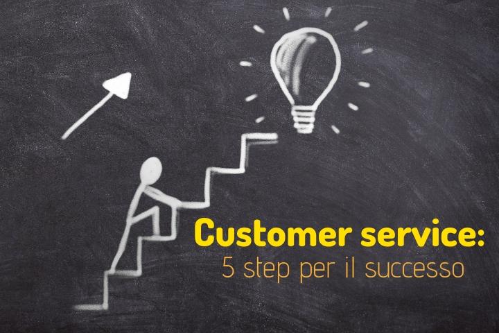 5 step per le tue mansioni nel customer service