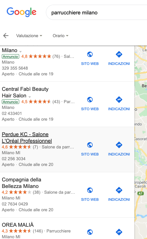 recensioni google mybusiness