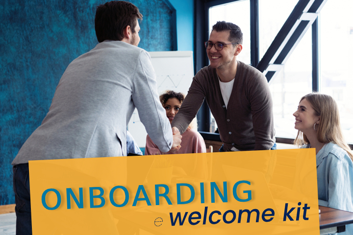 Onboarding senza intoppi con un welcome kit