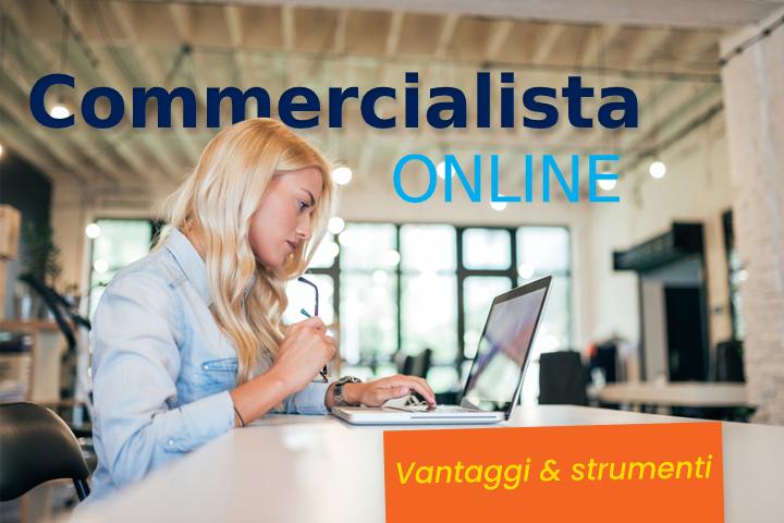 Gestire la contabilità con un commercialista online