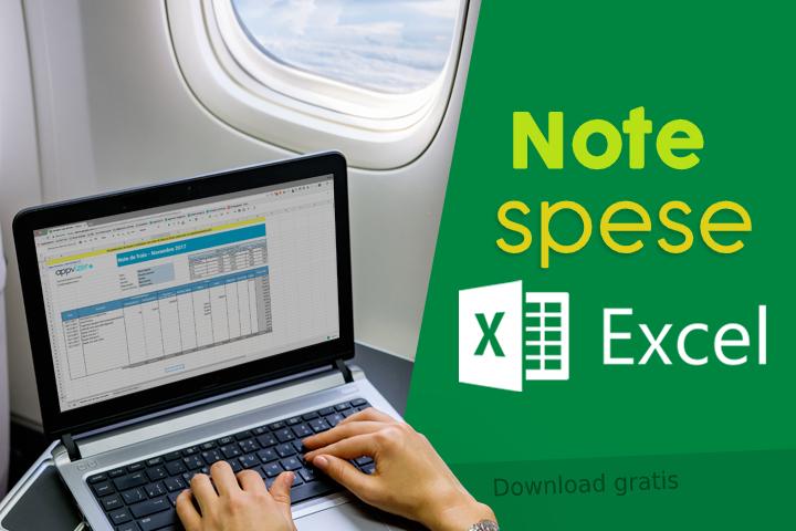 Note spese Excel, modello gratuito da scaricare