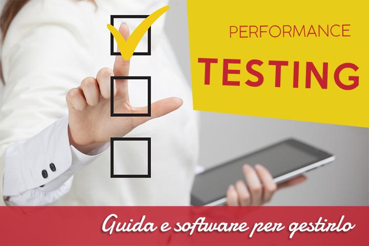 Performance testing verso delle prestazioni al top