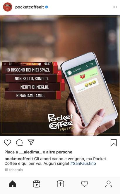 post instagram pocket coffee