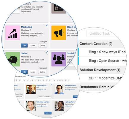 Enterprise social software eXoPlatform