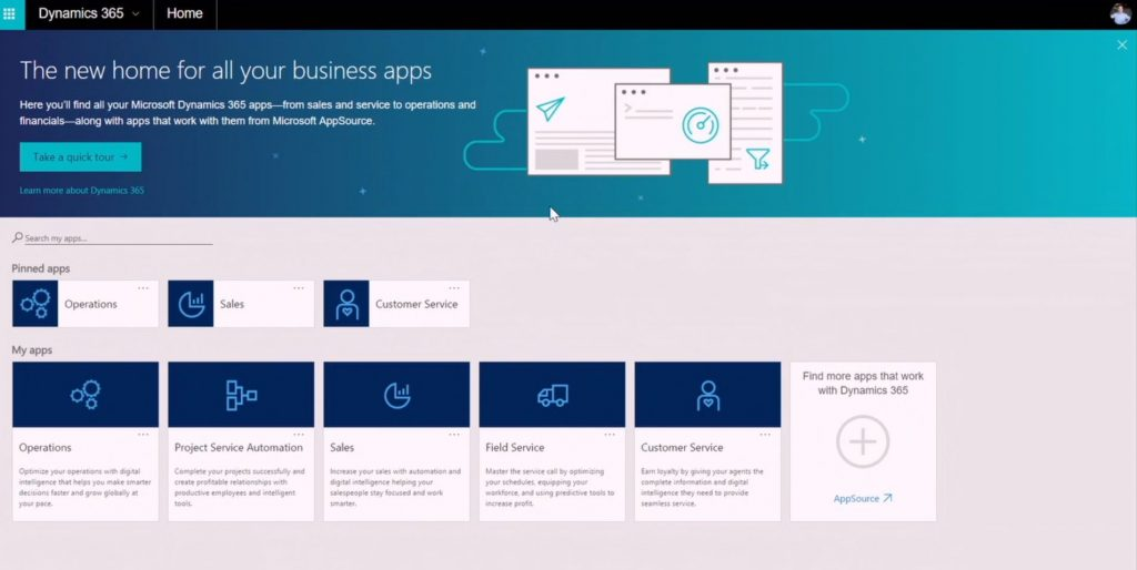 Microsoft Dynamics 365, the GRC software integrated into the Office Suite