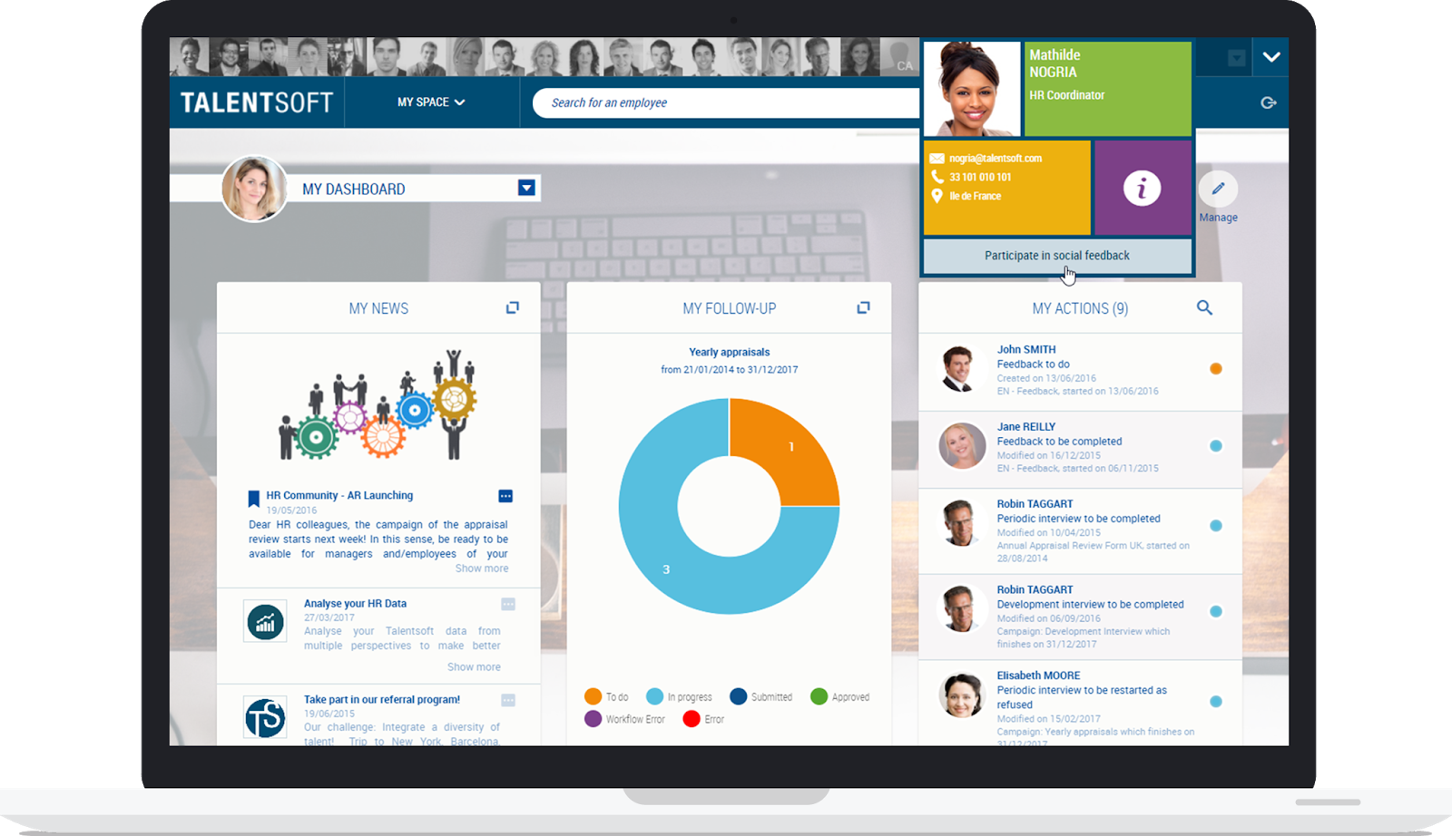 Talentsoft, the complete and easy-to-use recruitment software