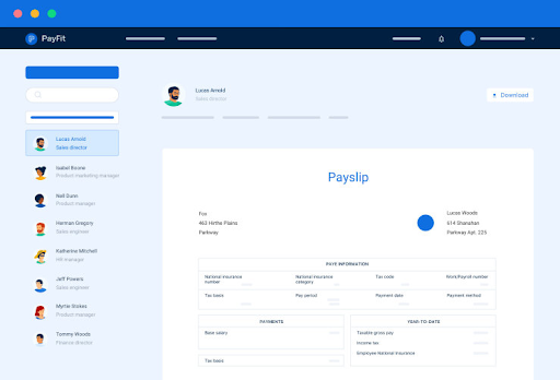 Payfit, HR software for SMEs that centralises payroll accounting, and leave and absence management