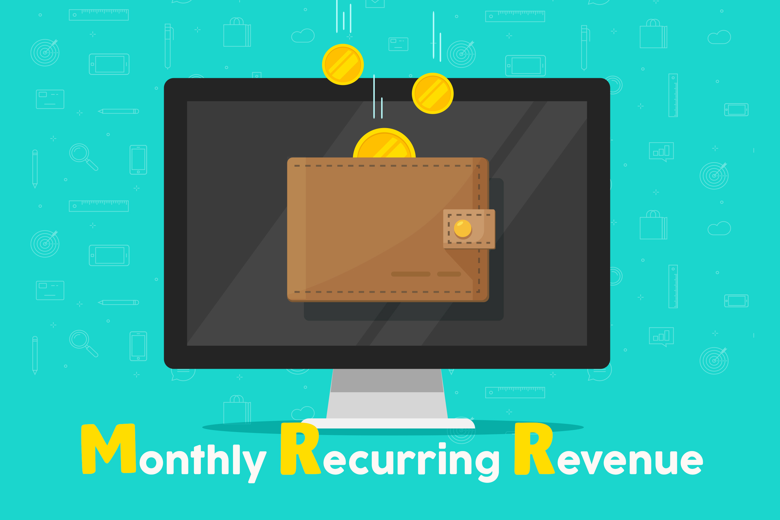 Monthly Recurring Revenue, a key business metric for SaaS businesses