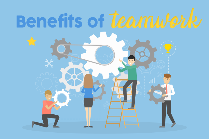 6 Amazing Benefits of Teamwork in the Workplace