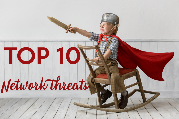TOP 10 common network threats & how to prevent them