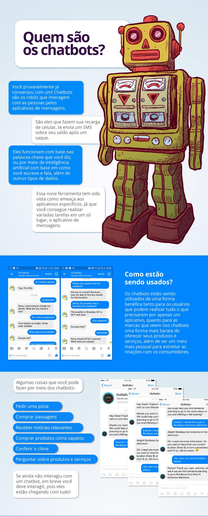 Chatbots o que são e seu uso