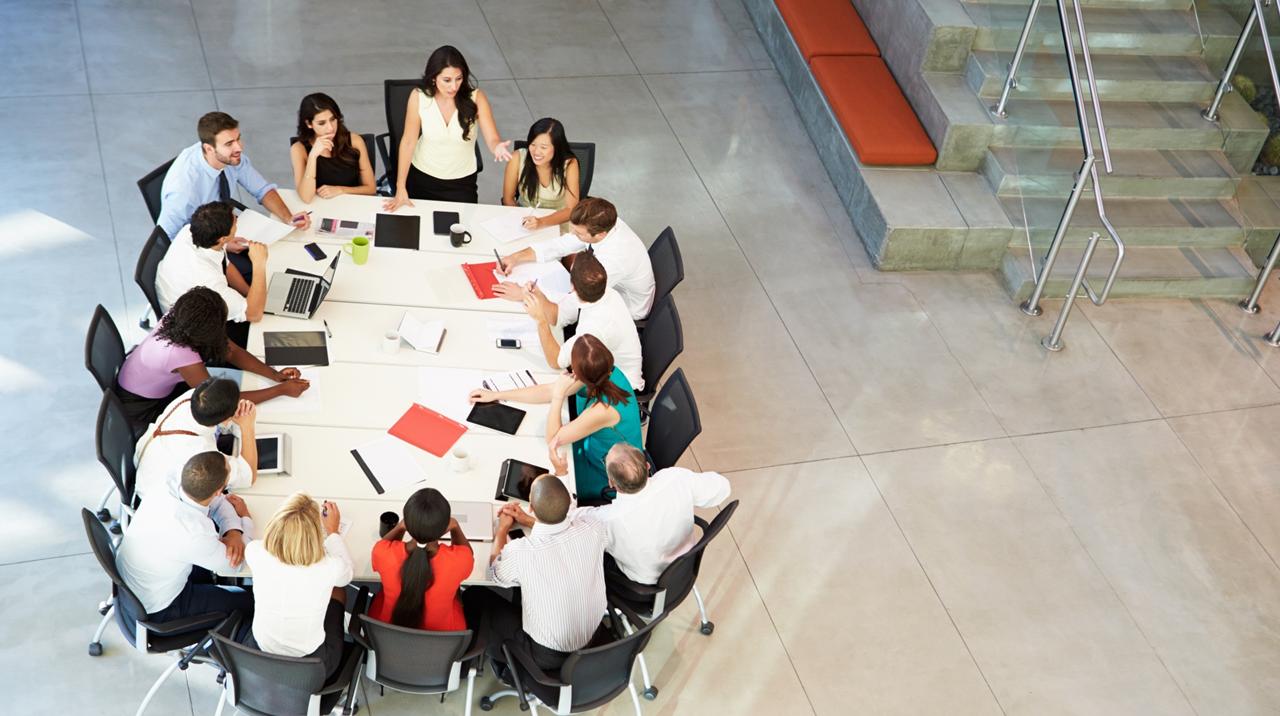 Reunião de trabalho produtiva